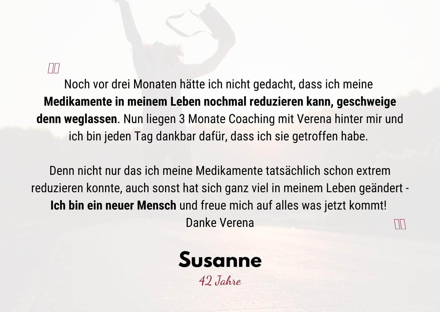 Testimonial Susanne